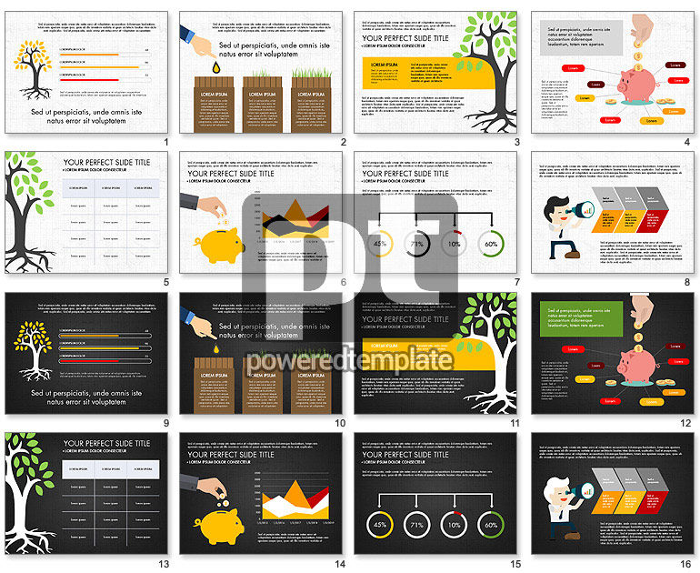 Growing Business Success Presentation Template