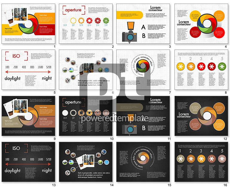 Photo Infographics Presentation Template