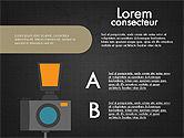 Photo Infographics Presentation Template#11