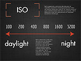 Photo Infographics Presentation Template#13