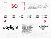 Photo Infographics Presentation Template#5