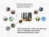 Photo Infographics Presentation Template#6