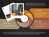 Photo Infographics Presentation Template#9