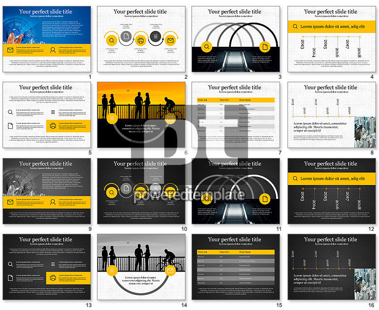 Company Business Presentation Template