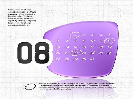 2017 PowerPoint Calendar, Slide 9, 04014, Timelines & Calendars — PoweredTemplate.com