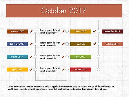 Timeline Concept, Slide 11, 04015, Timelines & Calendars — PoweredTemplate.com