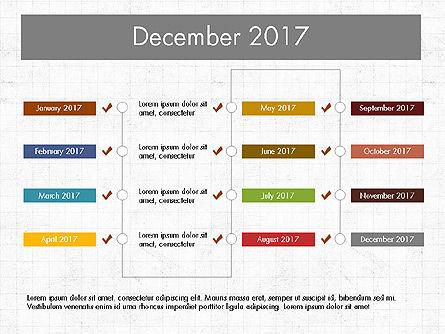 Timeline Concept, Slide 13, 04015, Timelines & Calendars — PoweredTemplate.com