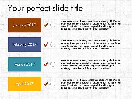 Timeline Concept, Slide 15, 04015, Timelines & Calendars — PoweredTemplate.com