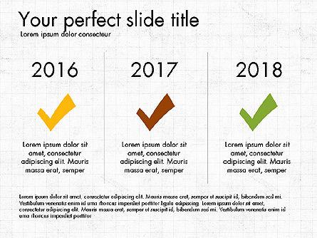 Timeline Concept, Slide 16, 04015, Timelines & Calendars — PoweredTemplate.com