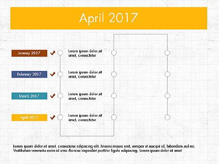 Timeline Concept, Slide 5, 04015, Timelines & Calendars — PoweredTemplate.com