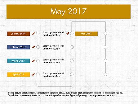 Timeline Concept, Slide 6, 04015, Timelines & Calendars — PoweredTemplate.com