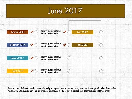 Timeline Concept, Slide 7, 04015, Timelines & Calendars — PoweredTemplate.com