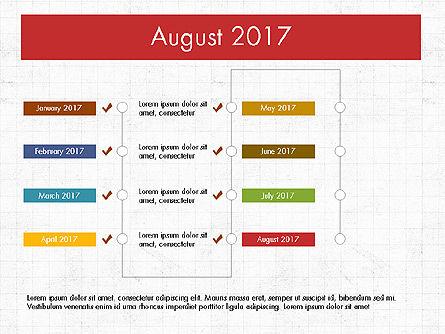 Timeline Concept, Slide 9, 04015, Timelines & Calendars — PoweredTemplate.com