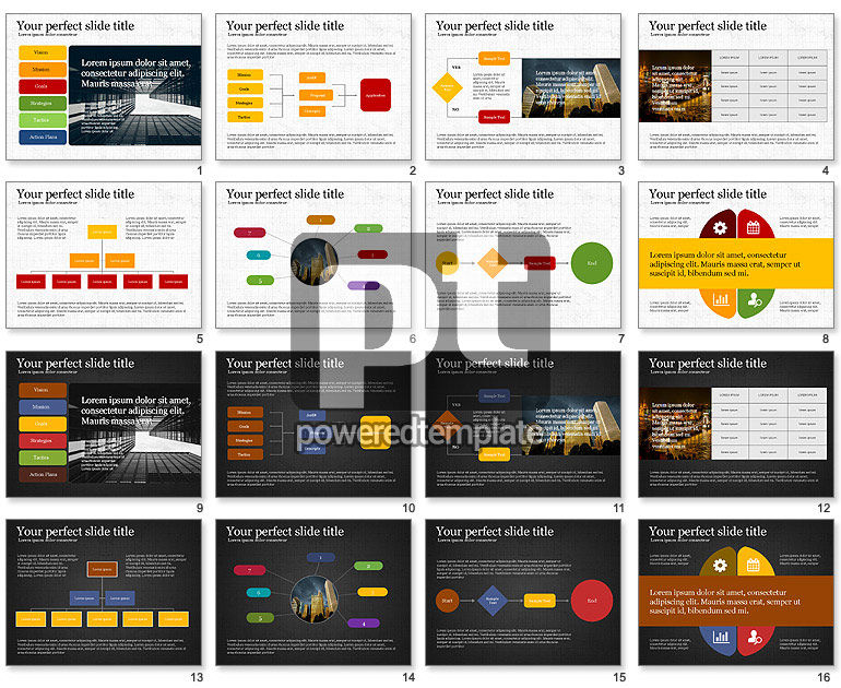 Company Presentation with Org Charts