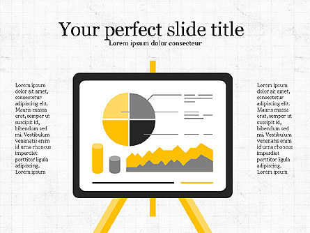 Project Analytics Presentation Template, 04017, Presentation Templates — PoweredTemplate.com