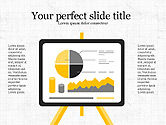Presentation Templates: Project Analytics Presentation Template #04017