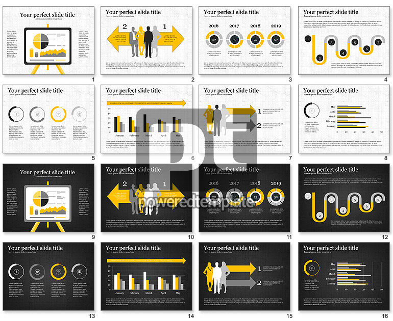 Project Analytics Presentation Template