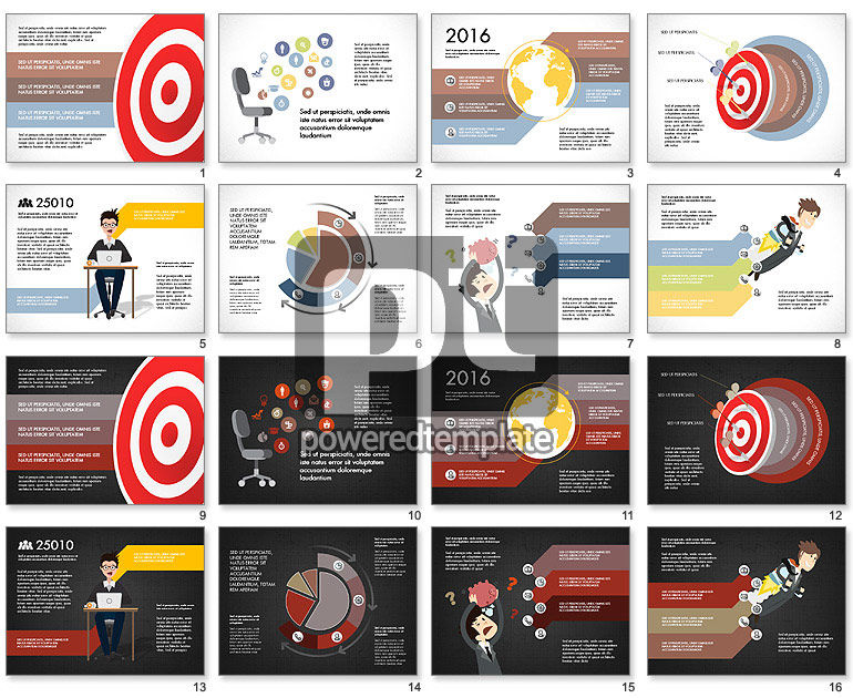 Target Marketing Presentation Concept