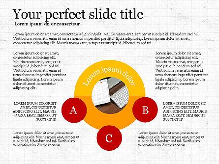 Company Profile Presentation Deck, Slide 6, 04023, Presentation Templates — PoweredTemplate.com