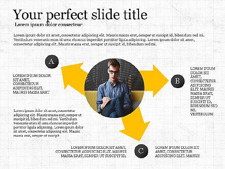 Company Profile Presentation Deck, Slide 8, 04023, Presentation Templates — PoweredTemplate.com