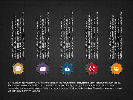 Social Media Flat Designed Presentation Concept Slide 13