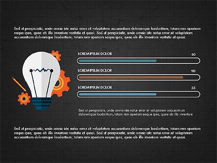 Trendy Presentation Template in Flat Design Style, Slide 11, 04026, Presentation Templates — PoweredTemplate.com