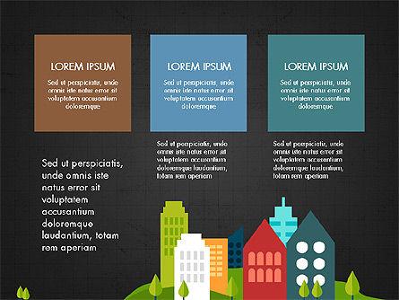 Trendy Presentation Template in Flat Design Style, Slide 13, 04026, Presentation Templates — PoweredTemplate.com