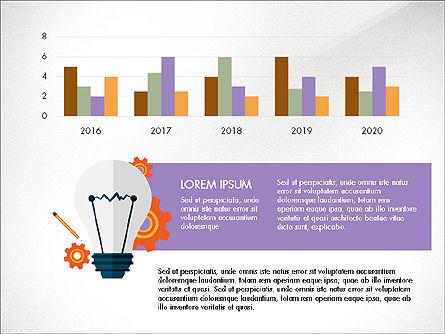 Trendy Presentation Template in Flat Design Style, Slide 6, 04026, Presentation Templates — PoweredTemplate.com