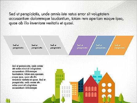Trendy Presentation Template in Flat Design Style, Slide 7, 04026, Presentation Templates — PoweredTemplate.com