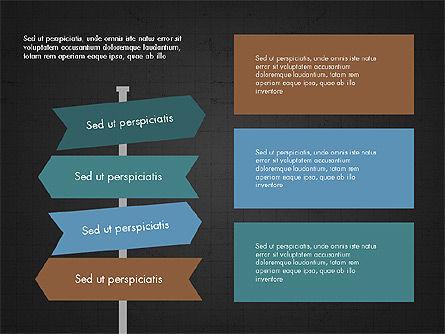 Trendy Presentation Template in Flat Design Style, Slide 9, 04026, Presentation Templates — PoweredTemplate.com