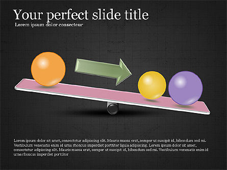 Balance Presentation Concept, Slide 11, 04028, Business Models — PoweredTemplate.com