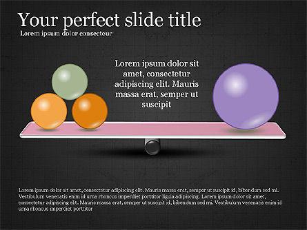 Balance Presentation Concept, Slide 13, 04028, Business Models — PoweredTemplate.com