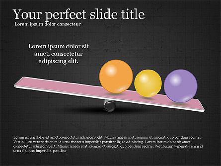 Balance Presentation Concept, Slide 16, 04028, Business Models — PoweredTemplate.com