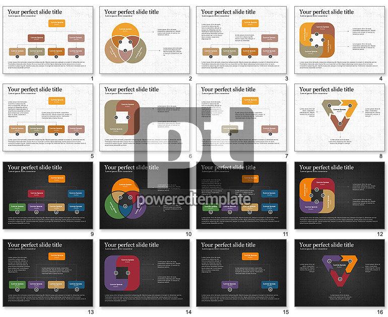 Concepto de presentación de procesos empresariales