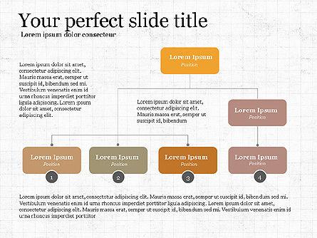Business Process Presentation Concept, Slide 3, 04030, Organizational Charts — PoweredTemplate.com