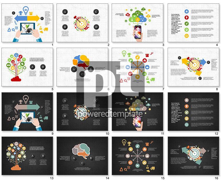 Mobile Applications Infographics