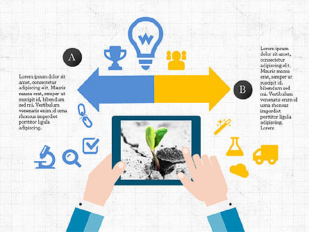 Mobile Applications Infographics, 04031, Infographics — PoweredTemplate.com