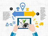 Infographics: Mobile Applications Infographics #04031