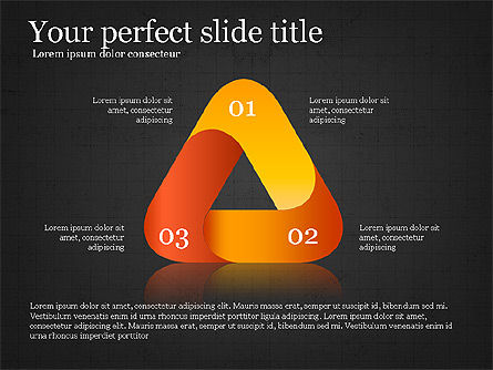 Stage Diagram Collection, Slide 12, 04032, Shapes — PoweredTemplate.com
