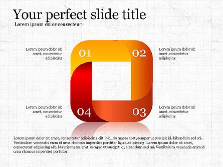 Stage Diagram Collection, Slide 5, 04032, Shapes — PoweredTemplate.com