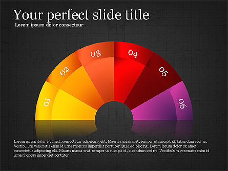 Stage Diagram Collection, Slide 9, 04032, Shapes — PoweredTemplate.com