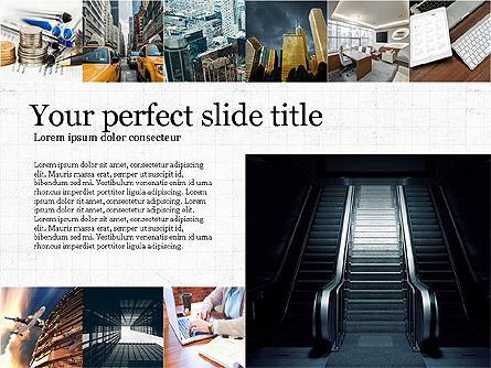 Brochure Presentation Template, 04033, Presentation Templates — PoweredTemplate.com