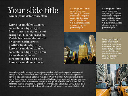 Brochure Presentation Template, Slide 13, 04033, Presentation Templates — PoweredTemplate.com