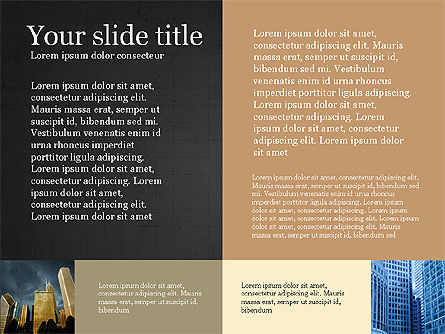 Brochure Presentation Template, Slide 15, 04033, Presentation Templates — PoweredTemplate.com