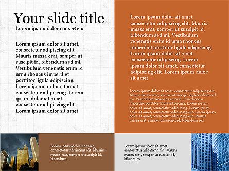 Brochure Presentation Template, Slide 7, 04033, Presentation Templates — PoweredTemplate.com