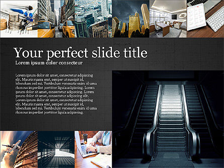 Brochure Presentation Template, Slide 9, 04033, Presentation Templates — PoweredTemplate.com