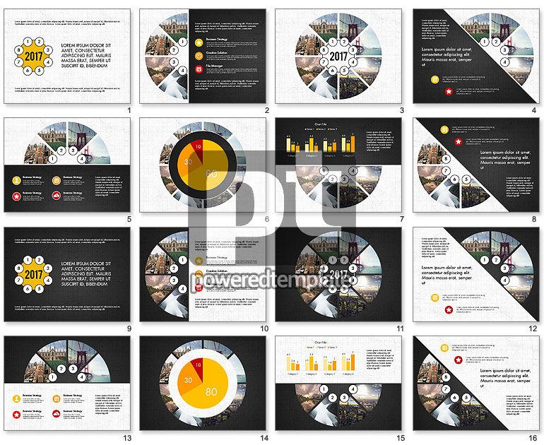Round Diagram Presentation Concept