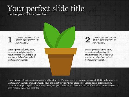 Growing Plant Presentation Concept Slide 11
