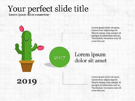 Growing Plant Presentation Concept, Slide 2, 04040, Infographics — PoweredTemplate.com