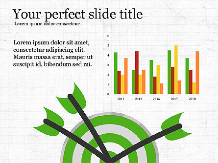 Growing Plant Presentation Concept, Slide 4, 04040, Infographics — PoweredTemplate.com